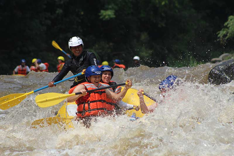 Descenso En Río Rafting Balsa Rio Pescados Jalcomulco Veracruz